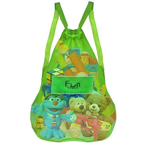 MESH BAG Drawstring Backpack Volleyball product image