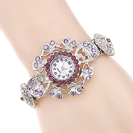 Aliexpress trade explosion Bracelet Diamond diamond watch retro ladies table table wholesale alloy: Amazon.es: Relojes