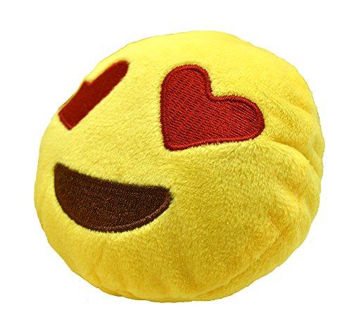 YINGGG Cute Mini Emoji Cushion Pillow Kids Soft Toy Gift Bag Accessory