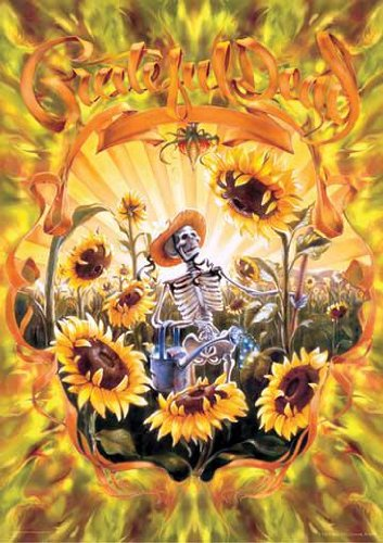 Poster Print The Grateful Dead - Grateful Grower by R. Biffle