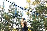 50' Ninja Slackline - Ninja Warrior Obstacle Course