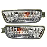 Driver and Passenger Signal Front Marker Lights Lamps Replacement for Toyota Pickup Truck 8152004080 8151004080