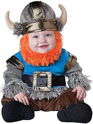 InCharacter Baby Boy's Viking, Silver/Blue, Medium(12 - 18mos)