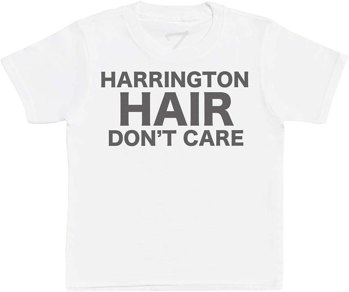 Zarlivia Clothing Harrington Hair Don't Care Kids T-Shirts, Kids Tee, Kids Tshirts