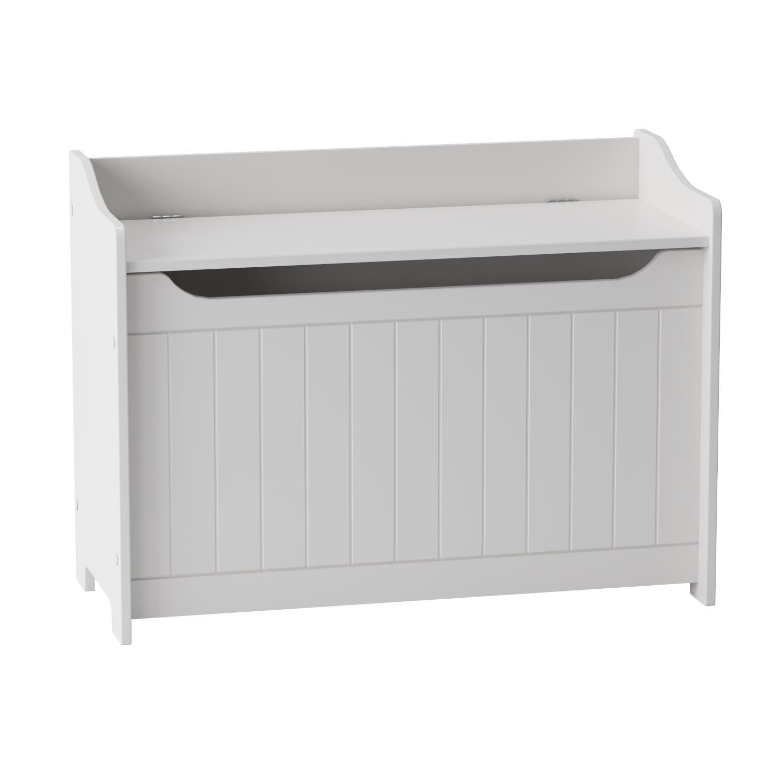 Amazon.com: Catskill Craftsmen Storage Chest/Bench, White: Kitchen ...