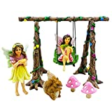 Fairy Garden Swing Set  Join Avie and Stella in their magical playground. Everybody enjoys the company of these two. From Grandparents to grandchildren, time seems to fly when we all play together and allow our minds to get carried away - jus...