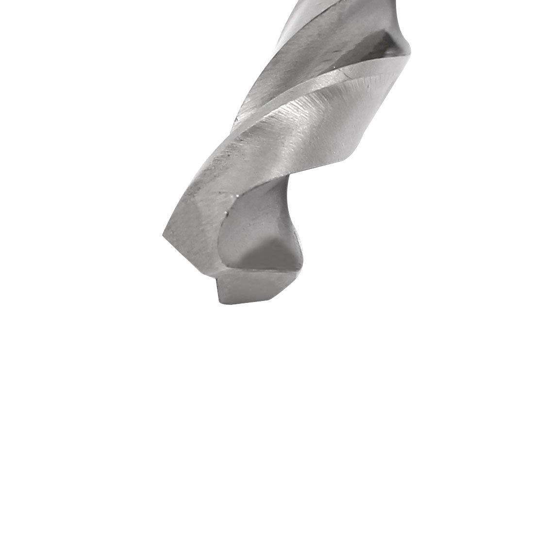 uxcell 8.1mm Twist Drill High Speed Steel Bit HSS-4241 for Steel Aluminum Alloy 5pcs