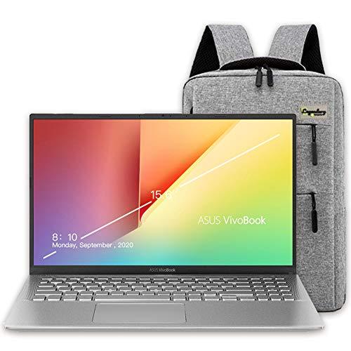 2020 ASUS 15 15.6″ FHD Laptop Computer, AMD Ryzen 5-3500U (Beats Intel i7-7500U), 8GB RAM, 512GB PCIe SSD, 2TB HDD, Webcam, HDMI, Windows 10, Silver /Lengendary Accessories
