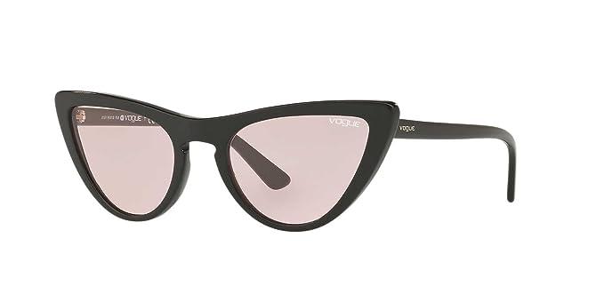 Vogue 0VO5211S W44/5, Occhiali da Sole Donna, Nero (Black/Pink), 54