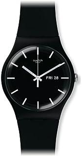Swatch Reloj Digital de Cuarzo para Mujer con Correa de Silicona – SUOB720