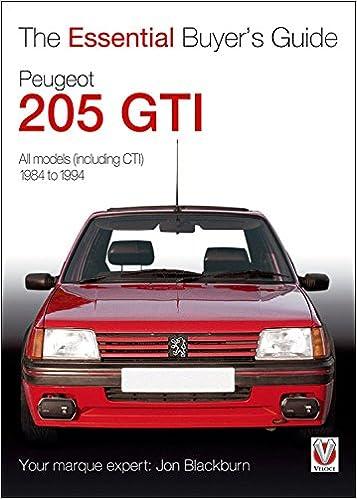 Peugeot 205 gti essential buyers guide series amazon jon peugeot 205 gti essential buyers guide series amazon jon blackburn 9781845842833 books fandeluxe Image collections