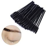 BTYMS 100 Pcs Disposable Eyelash Mascara Applicator