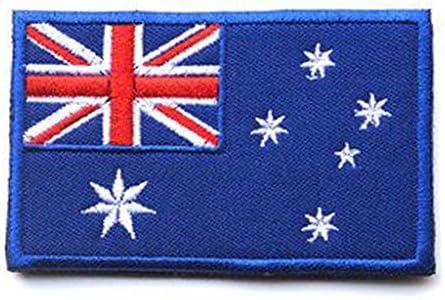 showplus Oceanía bandera Militar bordado parche de Velcro táctica moral hombro Applique: Amazon.es: Juguetes y juegos