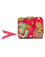 Bella Taylor Jazzberry Quilted Cotton Small Wallet
