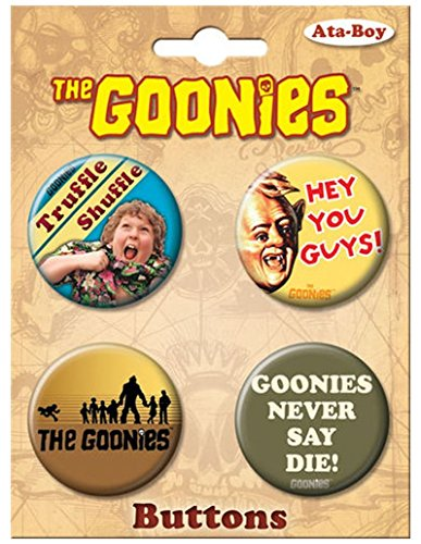 Ata Boy The Goonies Set Of 4 1 25  Collectible Buttons