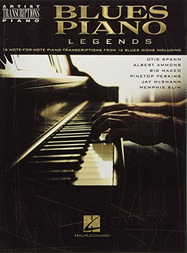 - Blues Piano Legends (Artist Transcriptions: Piano)