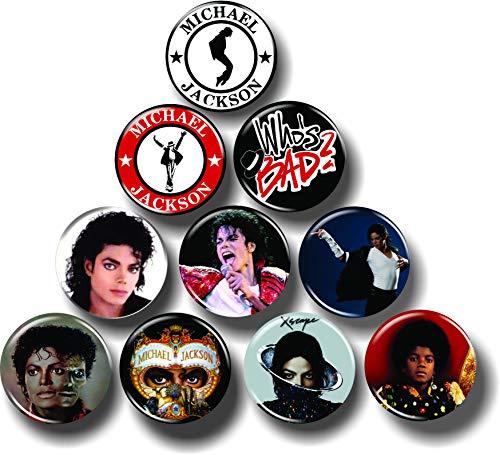 Michael Jackson Buttons 1.25