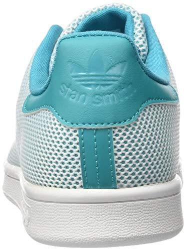 Adidas per turchese Scarpe Smith J Stan bianco bambini wqw4Z8