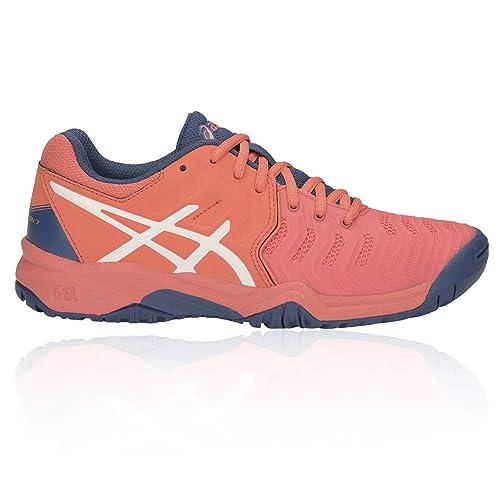 2bd032305 ASICS Gel-Resolution 7 GS Junior Zapatilla De Tenis - SS19  Amazon.es  Zapatos  y complementos