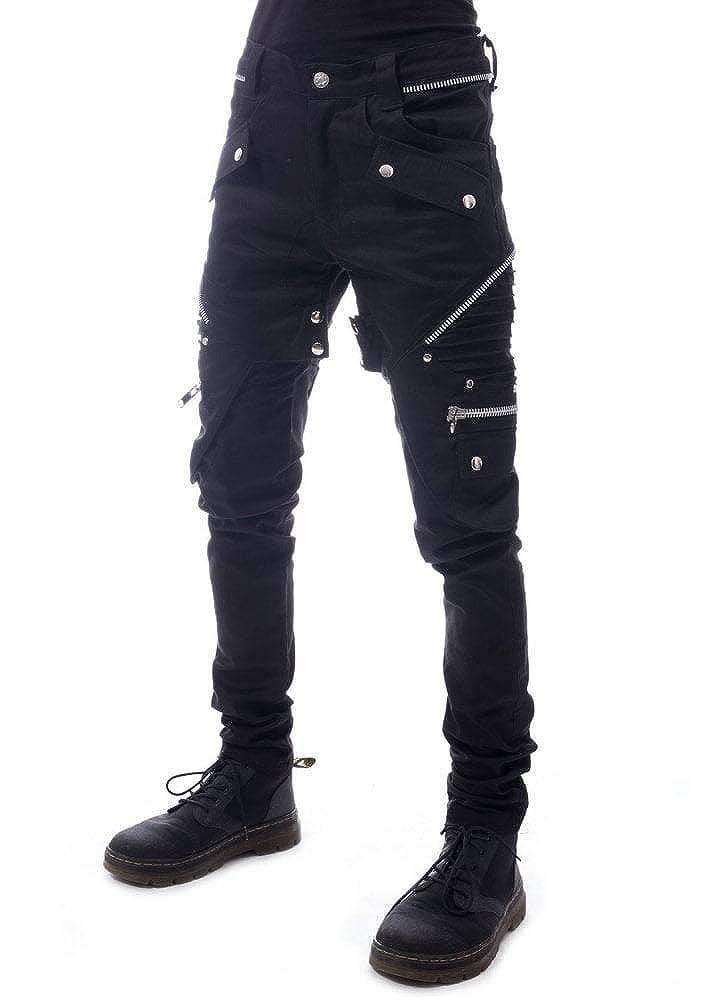 b02d8951296d0 Vixxsin Last Resort Pants: Amazon.co.uk: Clothing