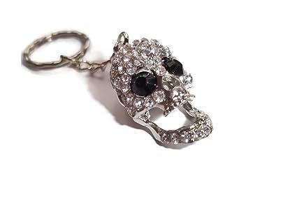 Halo accessoreis skull keyring - Llavero Mujer plateado ...