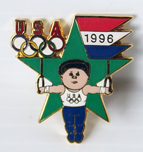 1996 Atlanta Georgia Summer Centennial Olympics, Gymnastics Event Trading Collectible Lapel - Summer Events Olympic