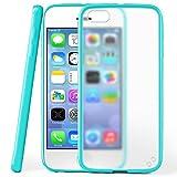 Funda protectora OneFlow para funda iPhone 5 / 5S / SE Carcasa silicona TPU 1,5mm | Accesorios cubierta protección móvil | Funda móvil paragolpes bolso traslúcida transparente en Aqua-Cyan