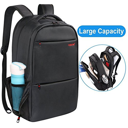 Kuprine Travel Lightweight Business Laptop Backpacks for Men Women Water Resistant Anti Theft Computer Backpack Up To 17 Inch Laptop College Backpack with Large Capacity