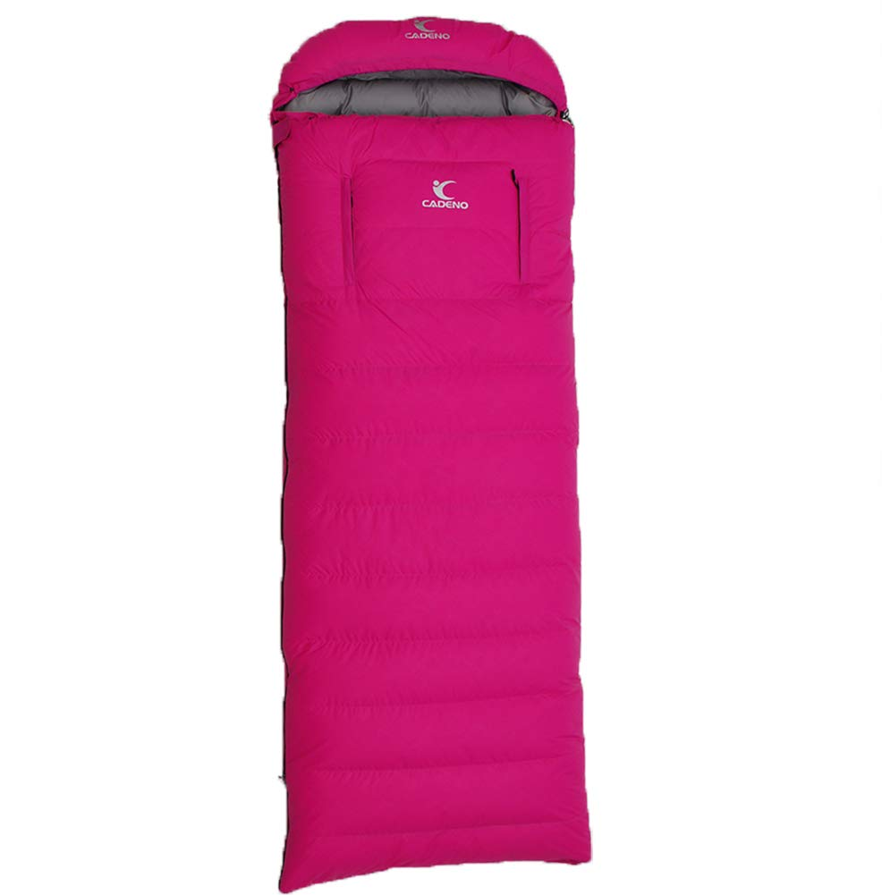 Lxhgl Camping Sleepingbag, Ente Down, Mumie, Winter Frühling Herbst und Sommer, Umschlag