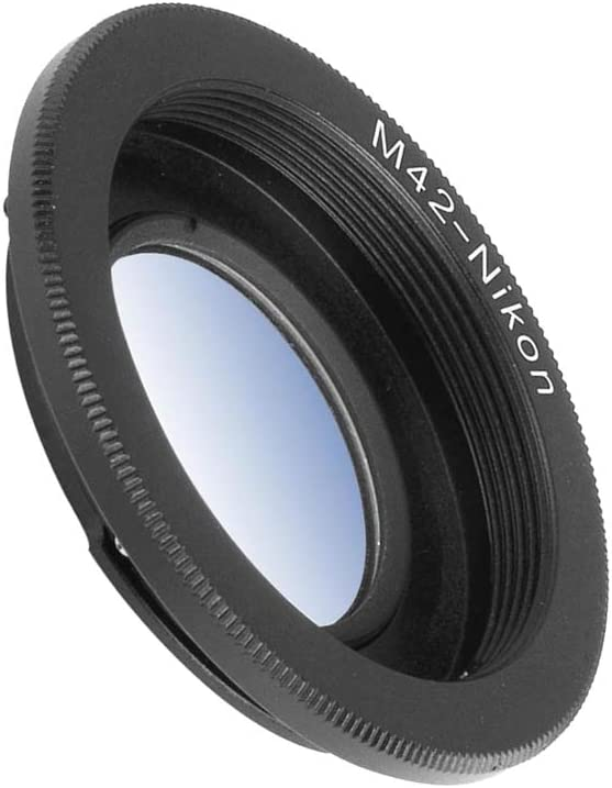 42x1mm M42 to EOS M Lens Adapter Screw Mount Lens Compatible with Canon EOS M Mount Mirrorless Camera M1 M2 M3 M5 M6 M10 M50 M100 M42
