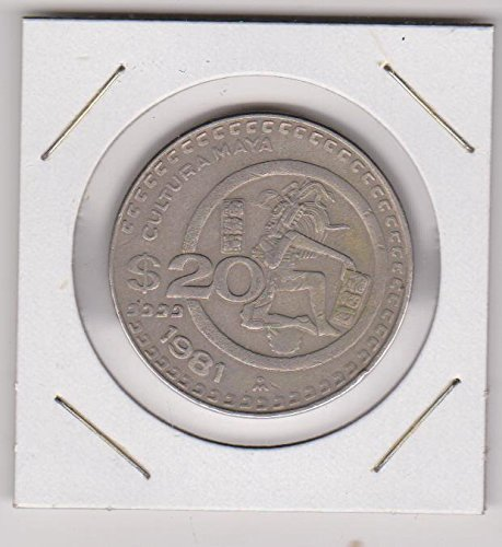 1981 Mexico Eagle $20 Choice Extremely Fine
