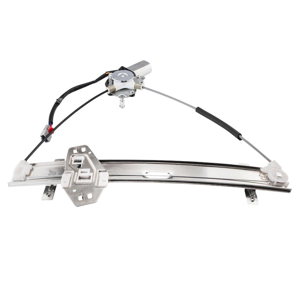 741-300 Front Left Driver Side Replacement Power Window Regulator with Motor Assembly for Honda Civic Coupe 2001-2005