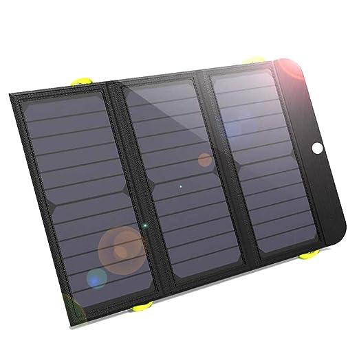 Comprajunta Cargador Solar Backpack,Bateria Panels 6000 Mah,USB(5V ...