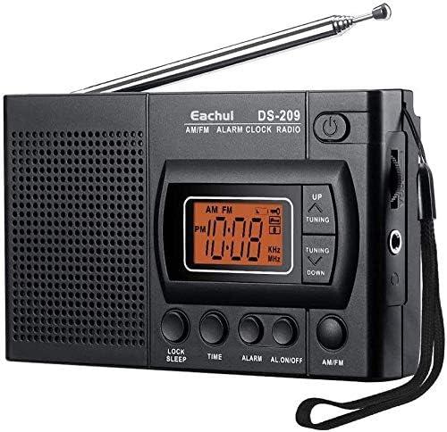 MxZas Portátil Am FM Radio pequeña Radio con el Altavoz, Auricular Gato, Temporizador de Apagado, Despertador, con Pilas Jzx-n: Amazon.es: Hogar