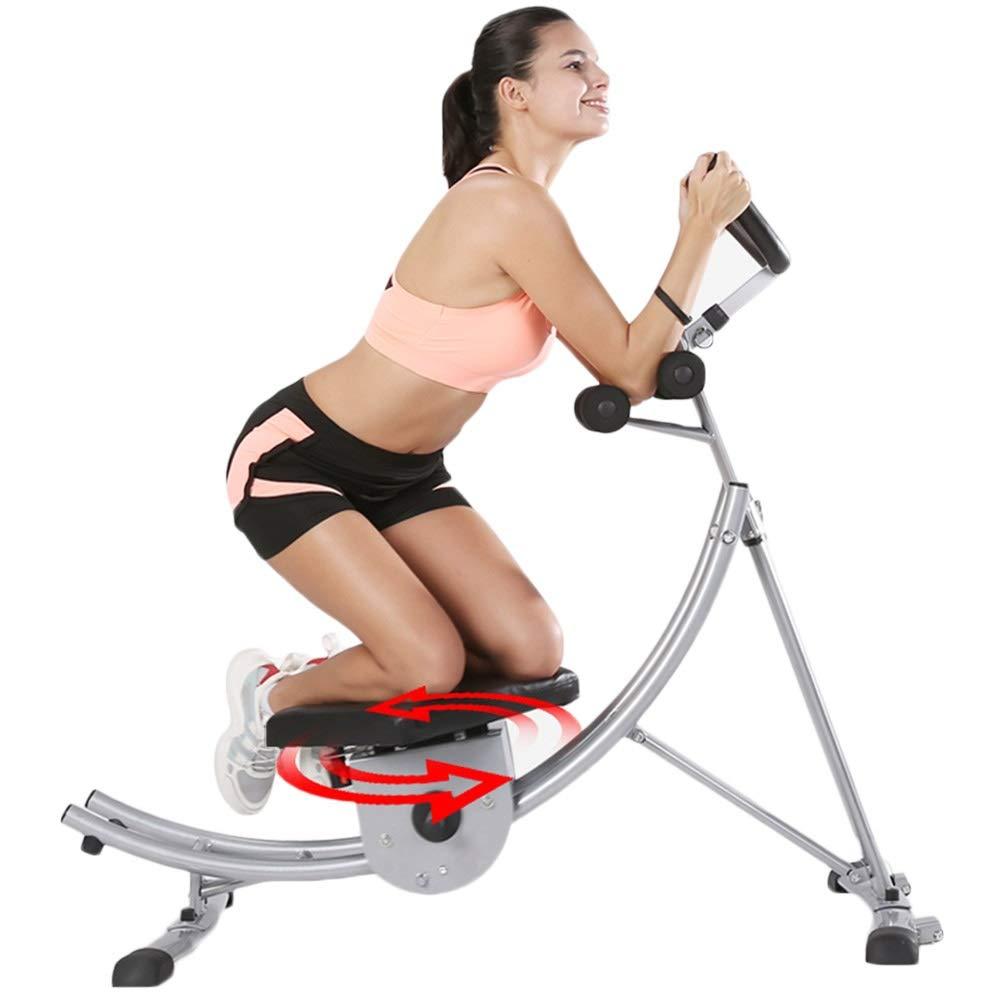 JIANFEI 腹筋トレーニング 電子ディスプレイ ユニセックス ソフトひざまずくパッド ジム ホーム 、2色 (色 : シルバー しるば゜, サイズ さいず : 130x67x127cm) シルバー しるば゜ 130x67x127cm