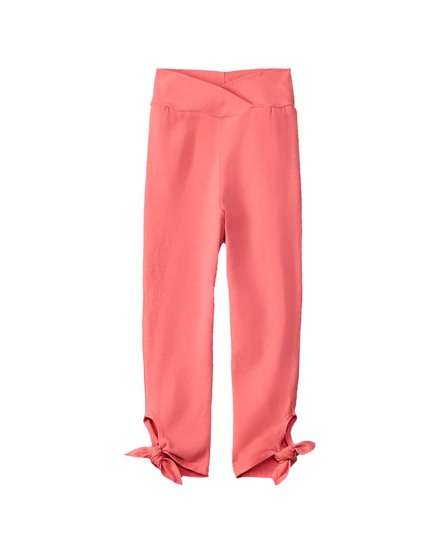 Joah Love Girls Tie-Cuff Legging, 6, Pink by Joah Love (Image #1)