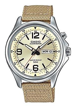 Amazon.com: MTP-E201 – 9bvdf Casio Reloj de pulsera: Watches