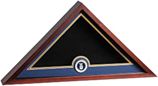 product image for Air Force Medallion Flag Display case fit 5' x 9.5' Casket Flag.