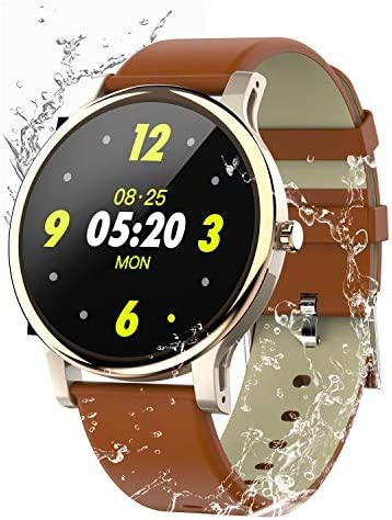Smart Watch for Android and iOS Phone ,with All-Day Heart Rate and Activity Tracking,IP68 Waterproof,Sleep Monitoring,Ultra-Long Battery Life, SMS Smartphone Notifications New Version