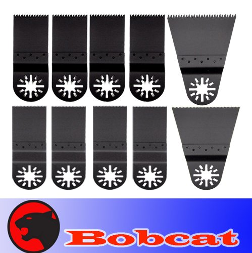 10 Japan / Fine Wide Tooth Fast Cut Wood Oscillating Multi Tool Saw Blade for Fein Multimaster Bosch Multi-x Craftsman Nextec Dremel Multi-max Ridgid Dremel Chicago Proformax Blades