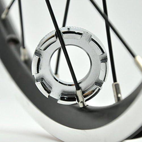 Sungpunet Llave de radios de rueda de bicicleta universal mini 8 ...