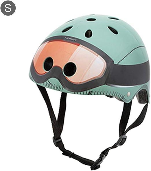 HAODENE Casco de Bicicleta para niños, Casco de Bicicleta ...