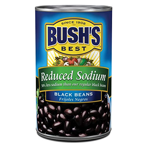 Bush's Best Reduced Sodium Black Beans, 15 oz