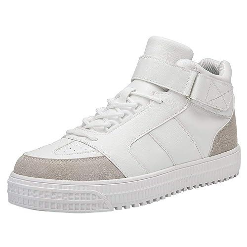 Zapatos Hombre Black Friday Casuales Invierno Botas de Tobillo Inferiores Gruesos cómodos de la Moda de los Hombres Zapatillas de Deporte Zapatos ...