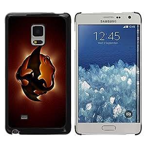 Be Good Phone Accessory // Dura Cáscara cubierta Protectora Caso Carcasa Funda de Protección para Samsung Galaxy Mega 5.8 9150 9152 // Dragon Planet