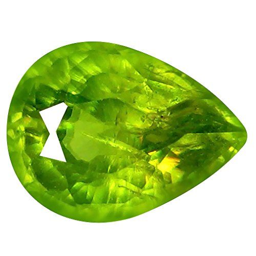 Deluxe Gems 1.32 ct Pear (8 x 6 mm) Pakistan Un-Heated Pakistan Sphene Natural Loose ()