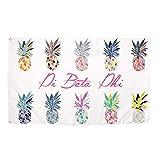 Pi Beta Phi Pop Art Pineapple Sorority Flag Greek Letter Use as a Banner 3 x 5 Feet Sign Decor Pi Phi For Sale