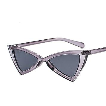 Aoligei Triangulaire réflectorisé lunettes Dame européens et américains lunettes de soleil marée papillon fashion Shoot Street Gpzadu
