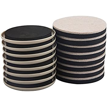 Felt  Heavy Furniture Movers for Hard Surfaces  pieces - Tan