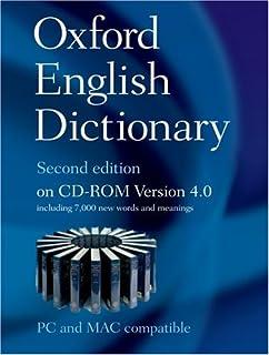 Oxford English Dictionary on CD-ROM (Windows): John A